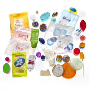 photo of the cosmetic containers we can recycle